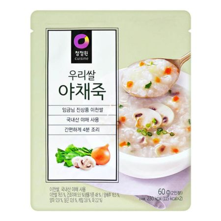 Daesang Instant Gruel (Vegetable Rice Porridge) 60g