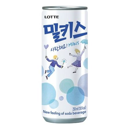 Lotte Milkis - Milk Soda 250ml