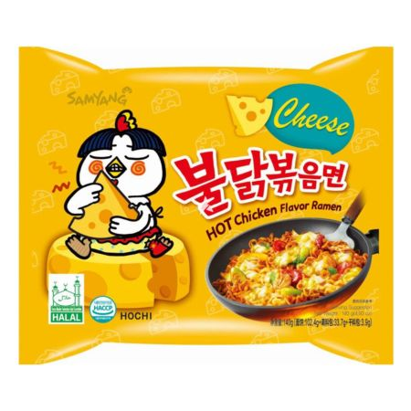 Samyang Hot Chicken Flavour Buldak Ramen Cheese 140g
