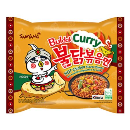 Samyang  Buldak Hot Chicken Flavour Ramen Curry 140g