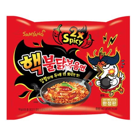 Samyang Buldak Hot Chicken Flavour Ramen - Double Spicy 140g