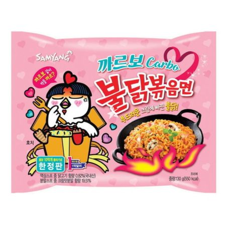 Samyang Hot Chicken Flavour Ramen Carbonara (Limited Edition) 130g