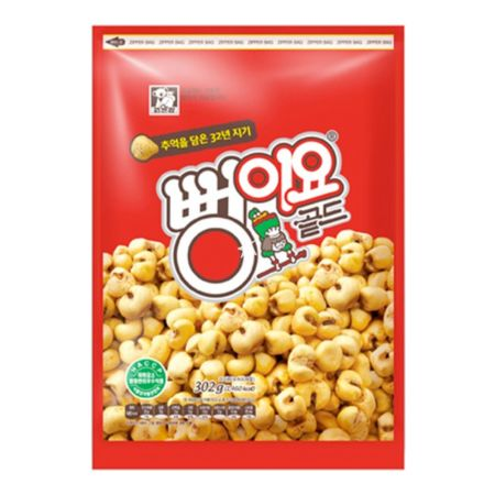 Bbungiyo Gold Butter Flavour Popped Corn Snack 302g
