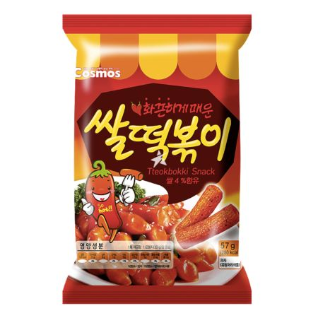 Cosmos Topokki Flavoured Snack 57g