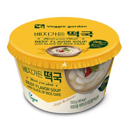Taekyung Veggie Garden Beef Flavour Soup with Slice of Rice Cake 153.5g
