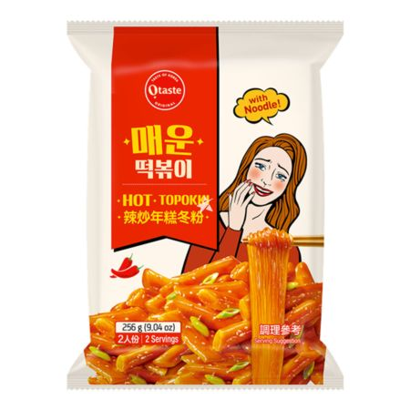 Taekyung O'taste Hot Topokki with Noodle 2 Servings 256g