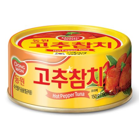 Dongwon Light Tuna with Hot Pepper Sauce 150g