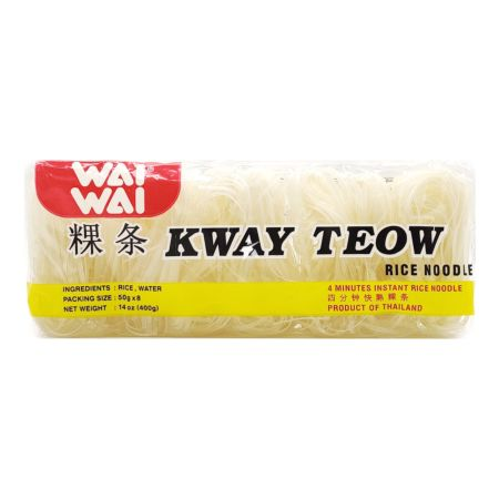 Wai Wai Kway Teow Rice Noodle (50g*8Pieces) 400g