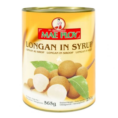 Mae Ploy Longans in Syrup 565g