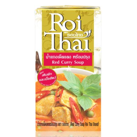Roi Thai Red Curry Soup 250ml