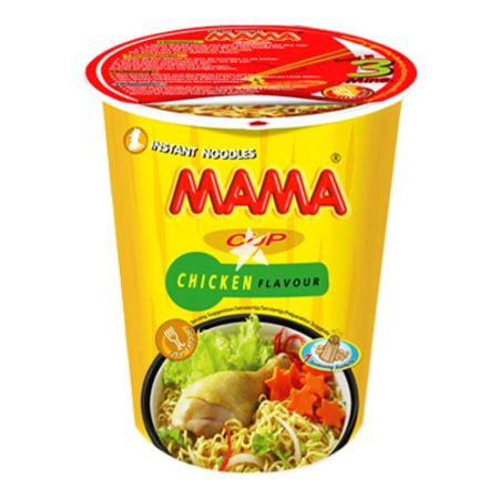 Mama Brand Instant Cup Noodles Artificial Chicken Flavour 70g