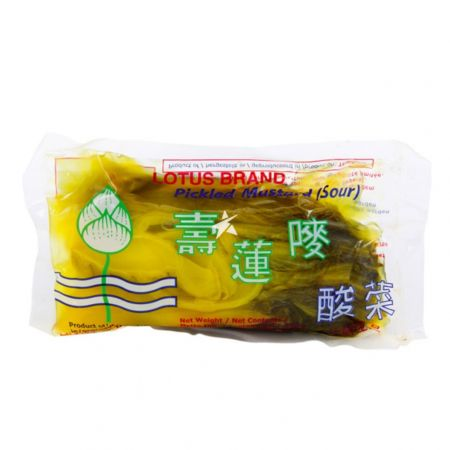 Lotus Brand Salted Pickled Mustard (Sour) 250g