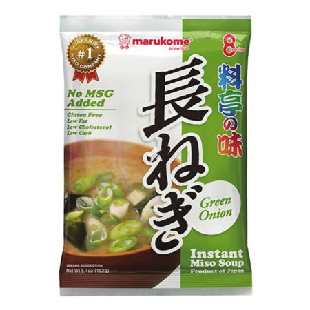 Marukome Instant Soup Ryoutei No Aji Green Onion 8 servings 152g