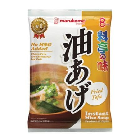 Marukome Instant Soup Ryoutei No Aji Fried Tofu 8 servings 156g