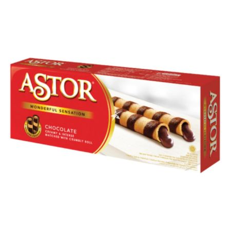 Astor Chocolate Wafer Roll 150g