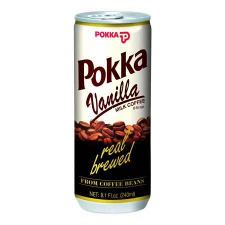 Pokka Can Drink - Vanilla Milk Coffee 240ml
