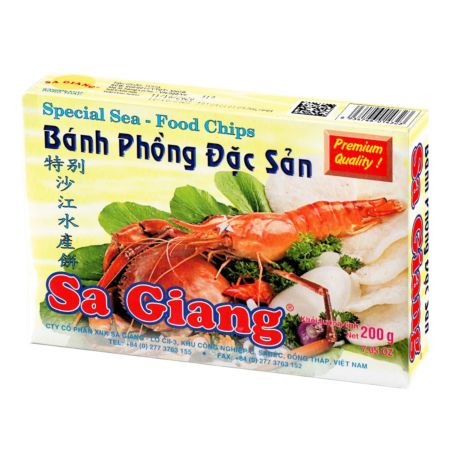 Sa Giang Special Seafood Chips 35mm 200g