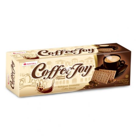 Mayora Coffee Joy Biscuits 2x 45g (90g)