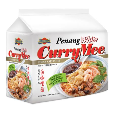 Ibumie Penang White CurryMee 105g (Pack of 4)
