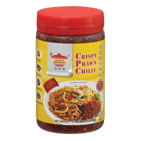 Tean's Gourmet Crispy Prawn Chilli 240g (Ready to Eat)