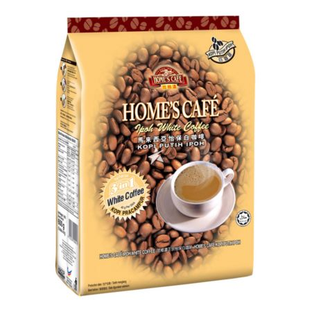 Home's Cafe 3in1 Ipoh White Coffee 40g per stick 600g