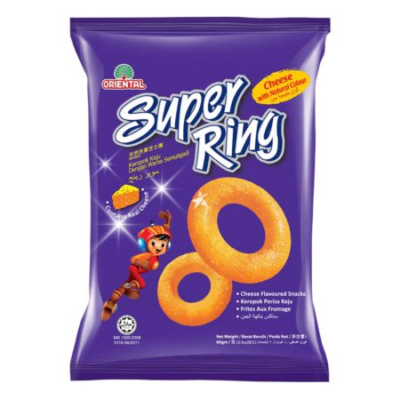 Oriental Super Ring Cheese Flavour Snacks 60g