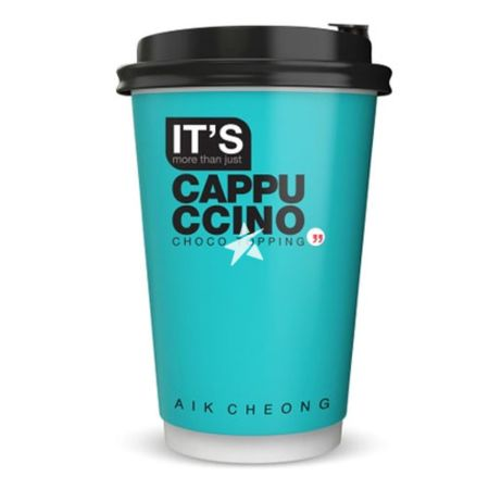 Aik Cheong It's Cup Cappuccino Choco Topping 35.5g