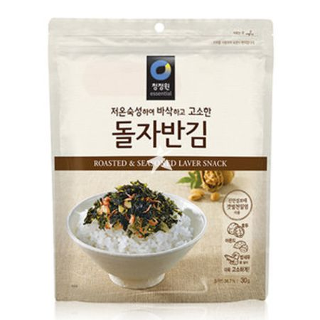 Daesang Chung Jung One Roasted & Seasoned Laver Snack for Rice 65g