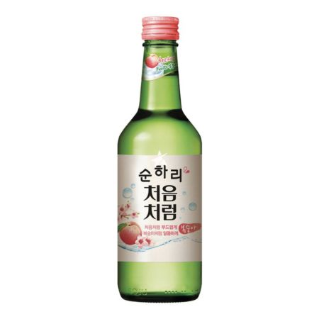 Lotte Chum Churum Soju - Peach Flavour 14% Alc 360ml