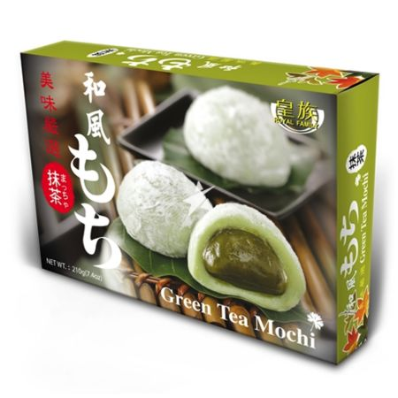 Royal Family Japanese Style Mochi - Matcha (Green Tea) Flavour 6 Pieces 210g