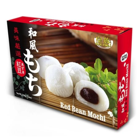 Royal Family Japanese Style Mochi - Red Bean Flavour 6 Pieces 210g