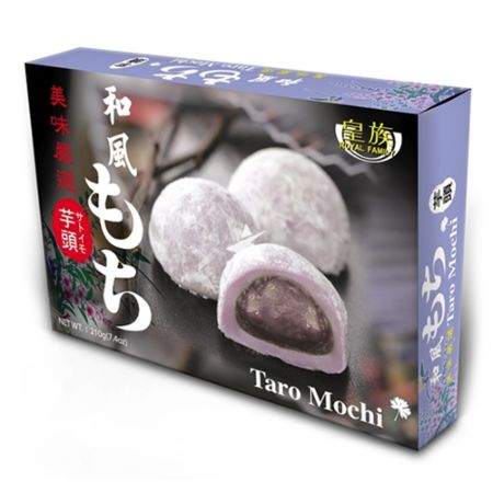 Royal Family Japanese Style Mochi - Taro Flavour 6 Pieces 210g