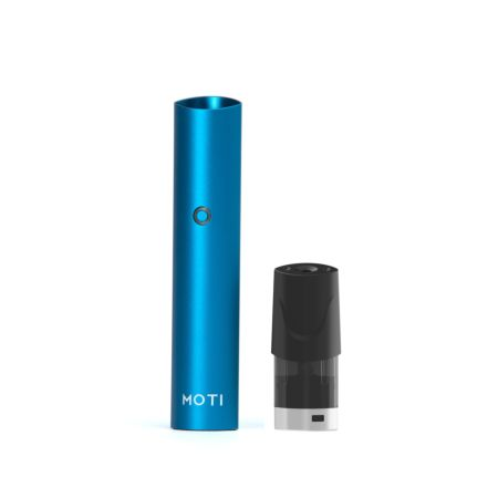 Moti E-Cigarettes Starter Kit with Charger - Deep Blue 300g