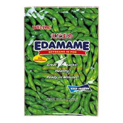 Wel-Pac Japanese Edamame (Soybean with Pod) 454g
