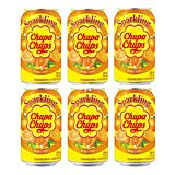Nam Yang Chupa Chups Sparkling Drink Orange Flavour 345ml (6 Cans)