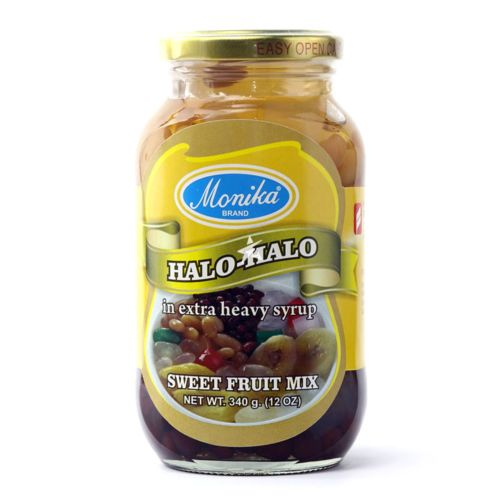 Monika Brand Halo-Halo Sweet Fruit Mix in Extra Heavy Syrup 340g