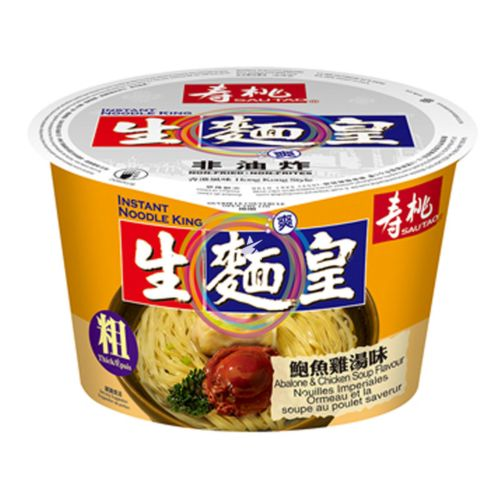 Sau Tao Instant Noodle King - Abalone & Chicken Soup Flavour (Thick) 82g