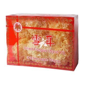 [Old Barcode] Golden Lily Dried Fungus (Syut Yi) 113g
