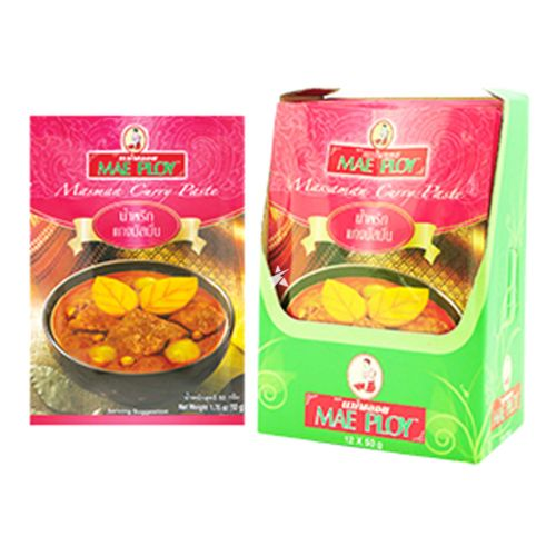 Mae Ploy Massaman Curry Paste 50g (Pack of 12)