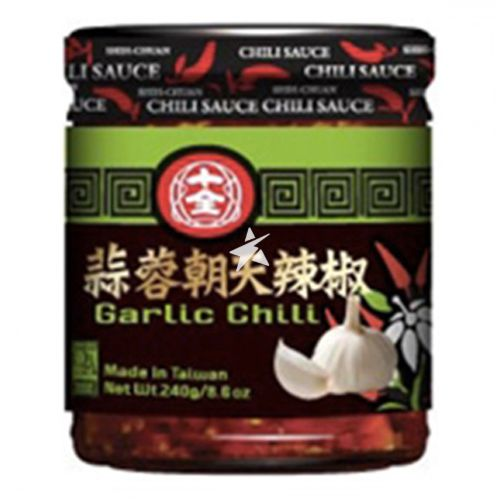 Shih Chuan Garlic Chilli 240g