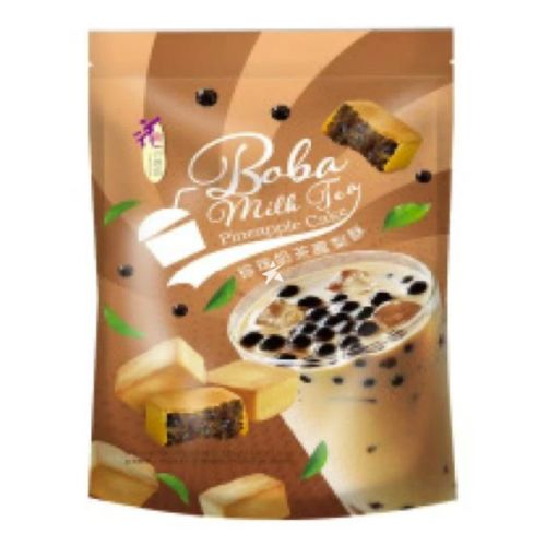 Loves Flower Pineapple Cake Pearl Milk Tea Flavour 125g