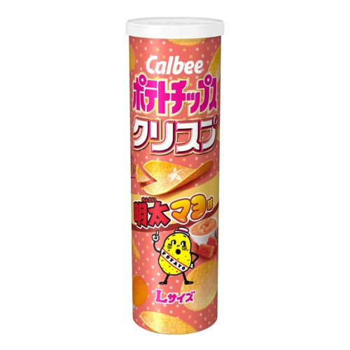 Calbee Potato Chips Mentai Mayo Flavour (Limited Edition) 115g