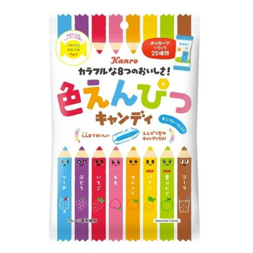 Kanro Colour Pencil Candy (Iro Enpitsu Candy) 80g