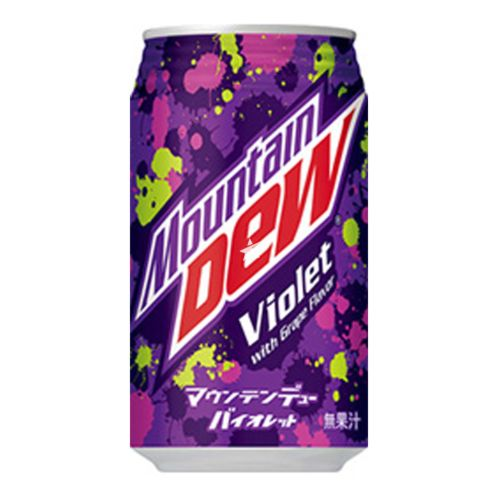 Mountain Dew Violet with Grape Flavour 350ml