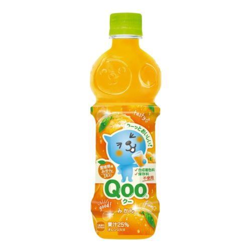 Minute Maid Qoo Mikan Juice Drink 470ml