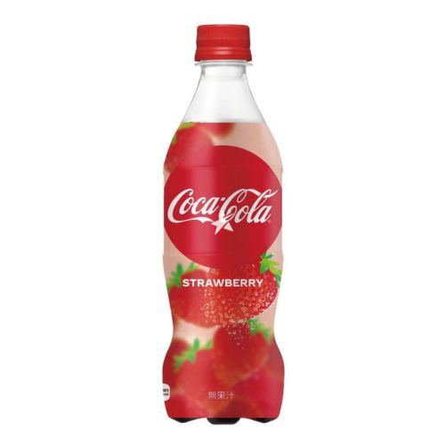 Coca Cola Strawberry 500ml