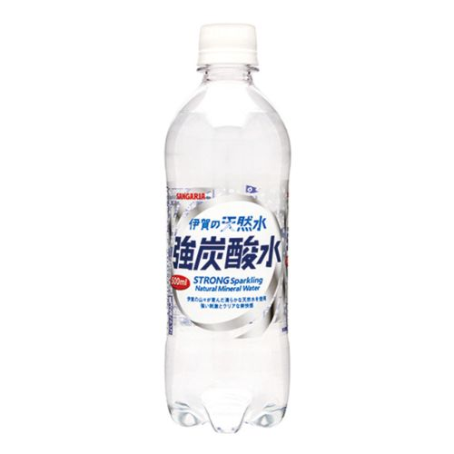 Sangari Iga no Tennen-Sui Strong Sparkling Natural Mineral Water 500ml
