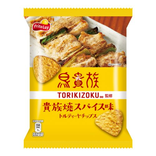 Fritolay Tortilla Chips Torikizoku Spicy Chicken Flavour 65g