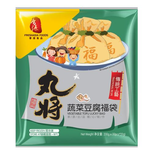 Fresh Asia Vegetable Tofu Lucky Bag 200g