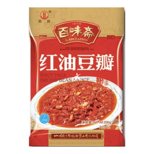 [Old Barcode] Baiweizhai Spicy Thick Broad Bean Sauce 200g